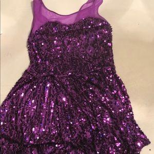💚 2/30 Purple Dance Costume